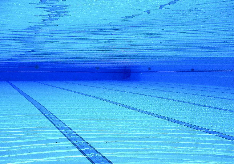 swimming pool, water, blue